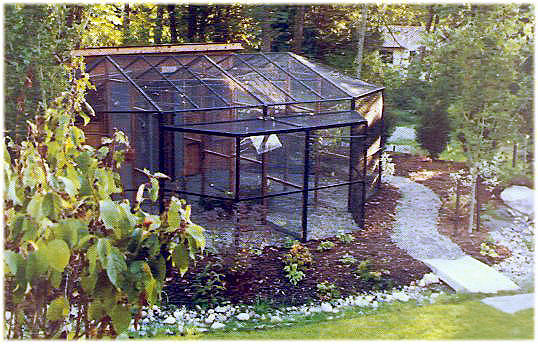 Cages, Custom Cages, Eurocage And Aviaries   Corners Limited Of West  Michigan